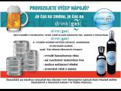Potravinářský plyn pro výčep nápojů – nová moderní technologie, která Vám ušetří čas i peníze