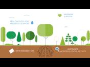 Půdní kondicionér pro sázení stromů a keřů a zlepšení jejich aklimatizace po zasazení