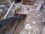 Bezvýkopové technologie pro budování a renovaci inženýrských sítí, řízené protlaky, vrty