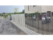 Návrhy úprav okolí domů a vil Praha - ploty, garážové vjezdy, zídky bazény, terasy