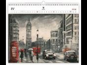 Reklamní kalendáře a diáře 2019 – nástěnné, stolní, kapesní