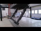 Prášková lakovna – práškové lakování velkých kovových dílů