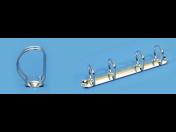 Kroužkové a pákové mechanismy do pořadačů - výroba