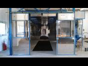 Tryskání oceli pomocí jemného abraziva – povrchová úprava oceli