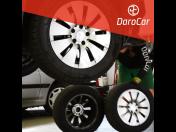 Přezutí pneumatik, výměna kol na osobní, užitková auta, dodávky - pneuservis