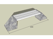 Betonové parkové lavičky – variabilní a odolné