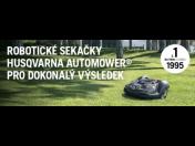 Robotické sekačky – krásný trávník bez námahy