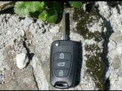 Výroba univerzálního autoklíče s dálkovým ovládáním a dálkové ovládání dle typu vozu