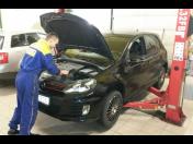 Autoservis, pneuservis Došlík-příprava na STK, provedení STK