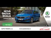 Prostorná, dynamická a praktická je nová Škoda Scala – prodej vozu za akční nabídku