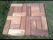 Originální dřevěné terasy - terasové rošty, kostky, čtverce, terasová prkna