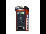 Parkovací systémy - závory pro zabránění vjezdu, příjezdový a odjezdový terminál