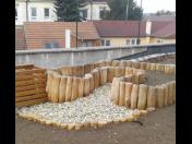 Atraktivní vzdělávání dětí formou vrbových staveb, mobiliáře i zahradnických prací