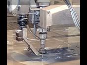 Řezání vodním paprskem - velmi přesné řezání kovů, plastů, kamene