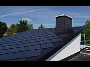 Solární střešní tašky pro vytápění a ohřev vody, Prachatice
