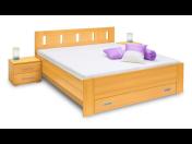 Prodej kvalitních dřevěných postelí různých provedení a příslušenství Kolín