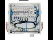 Plastové staveništní a zásuvkové rozváděče pro napájení elektrických spotřebičů