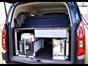 Camping, Schlafeinbauten im Auto Van Camping Modul – Autoumbau für Schlafwagen, Bett im Auto, Tchechien