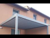 Výroba a prodej samonosné bioklimatické pergoly ARTOSI na míru pro každý domov