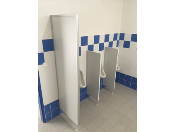 Lehké montované WC kabinky pro mateřské školky, ubytovací zařízení i veřejné prostory
