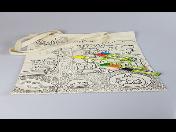 Originální látkové tašky s potiskem pro MŠ, ZŠ, SŠ – ruční výroba