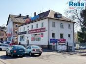 Pronájem jednotlivých kanceláří a prodejny s výlohou Liberec