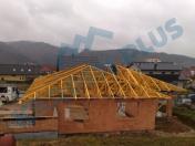 Výroba dřevěných příhradových vazníků a nosných střešních konstrukcí na klíč pro rodinné domy