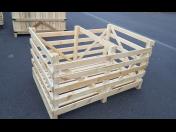 Zakázková výroba dřevěných beden na zelí nebo tykve v různých velikostech