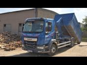 Pronájem a přistavení  kontejnerů na odvoz zeminy, stavební suti z rekonstrukce i demolice
