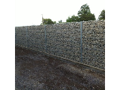 Unikátní oplocení gabionovými stěnami - prodej, dodávka, montáž gabionových stěn