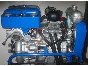 Generální opravy hasičských stříkaček PPS12, čerpadel a vývěv na zakázku