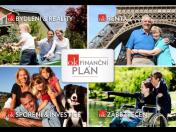 Pravidelné i jednorázové investování, zajištění rodiny, stáří a penze - spolehlivý finanční plán