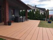 Megawood terasové kompozitové profily - materiál vhodný na terasu, balkon i k bazénu
