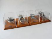 Reprezentační vitríny prodej Praha - pro modely autíček i figurky