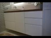 Zakázková výroba koupelnového nábytku v truhlářské dílně