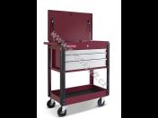 Dílenské vozíky pro autoservisy a pneuservisy – s vybavením i bez, prodej na e-shopu