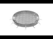 Odolné nerezové šachtové poklopy, pro betonovou výplň i s možností předláždění dlažbou