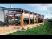 Útulné zimní zahrady z přírodních materiálů - výroba a prodej