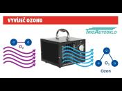 Čištění a dezinfekce interiérů vozidel a auto klimatizace ozonem