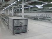 Installation von Herstellungsanlage für Elektronik, einschließlich Elektroinstallation die Tschechische Republik
