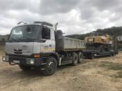 Přeprava strojů a mechanizace na stavby - dovoz, odvoz