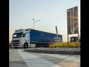 Odbavovací a vyvolávací systém pro nákladní vozidla Qtir ve výrobním podniku