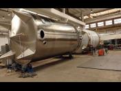 Strojírenská výroba, pivovary, lihovary Pacov, pivovarské technologie, chlazení mléka, nádoby