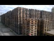 Dřevěné EUR palety B (II.) kvality s plnou funkčností – výkup, prodej za nízké ceny