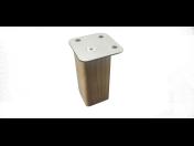 Dřevěné nábytkové nohy kulaté, hranaté různých velikostí, e-shop
