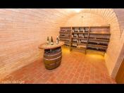 Degustace ve vinném sklepě na Jižní Moravě - apartmány s vlastním vinným sklípkem