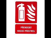 Přenosné hasicí přístroje pro hašení začínajícího požáru - prodej Brno