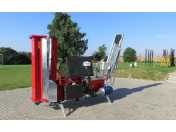 Prodej automatických štípačů pro průmyslovou výrobu štípaného dříví