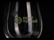 Zakázková výroba skleniček na víno s potiskem pro hotely, bary, restaurace, vinařství