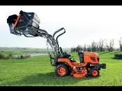 Malotraktory, traktorové sekačky Kubota pro zahradnictví, zemědělství a komunální služby